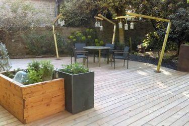 réalisation terrasse